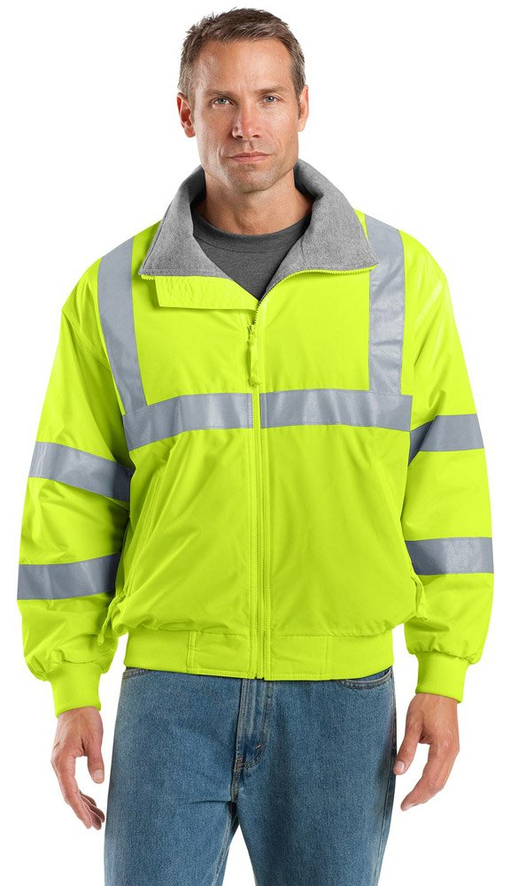 Port Authority Enhanced Visibilityチャレンジャージャケット B014W1IBO4 XS|Safety Yellow/ Reflective Safety Yellow/ Reflective XS