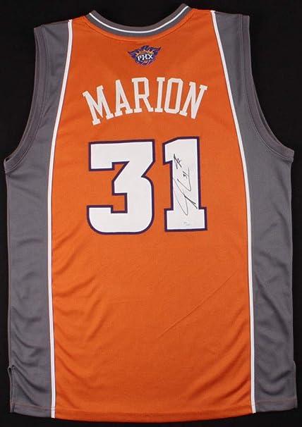 89b060b64ff Shawn Marion Autographed Signed Phoenix Suns Reebok Jersey - JSA ...