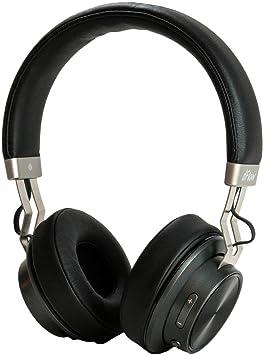 Auriculares Inalámbricos Bluetooth dFlow One, 14 Horas de batería, Auriculares con micrófono, Auriculares de Diadema, Sonido Deep Bass, Acabados en Piel Sintética y Aluminio: Amazon.es: Electrónica