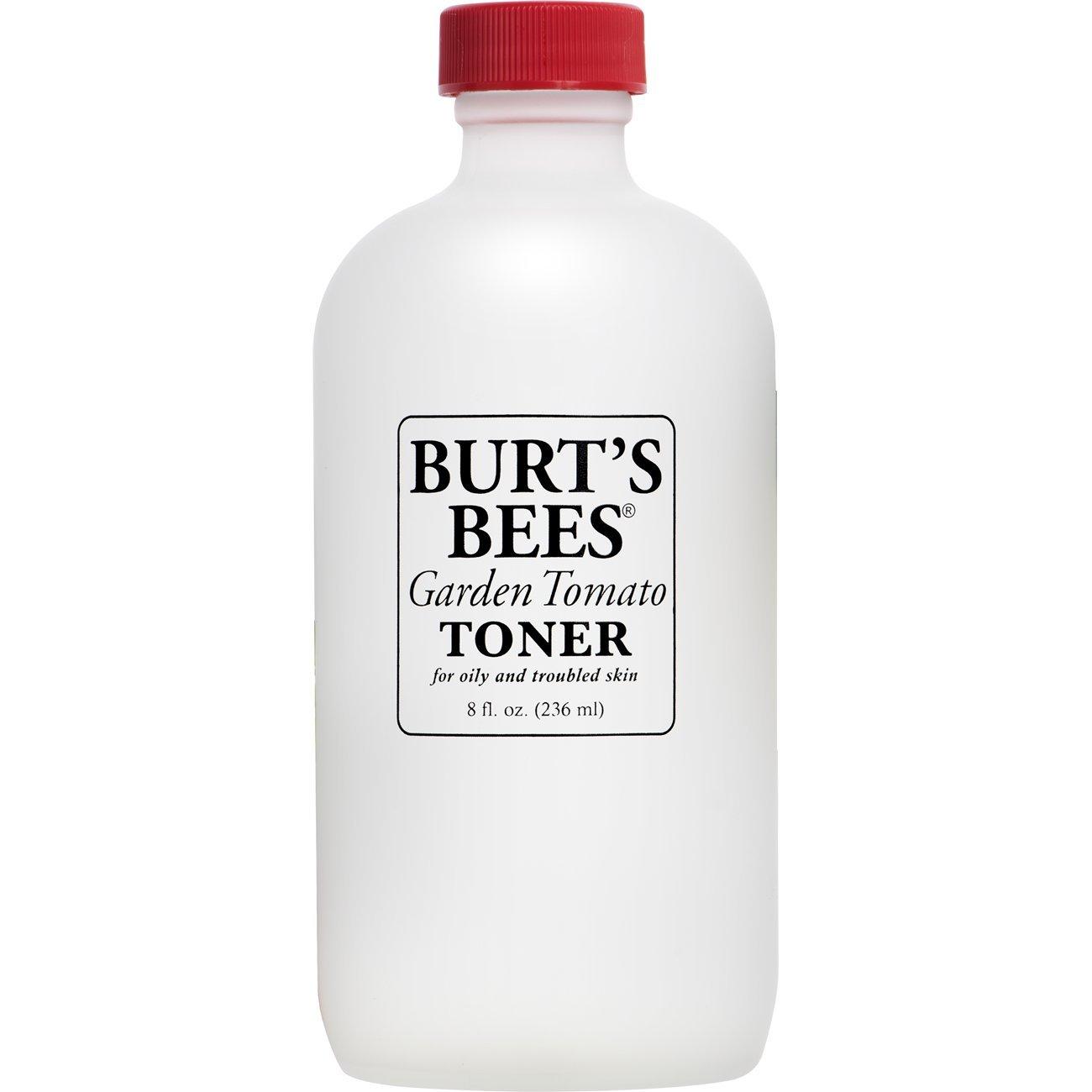 Burt's Bees Garden Tomato Toner, Skin Toner for Oily Skin, 8 Ounces