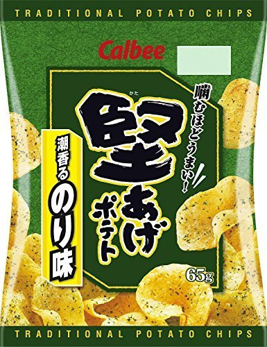 Calbee - Japan Potato Chips Seaweed/Salt Taste (2.31oz)
