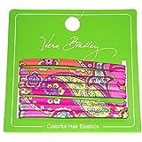Vera Bradley Hair Elastics in Pink Swirls