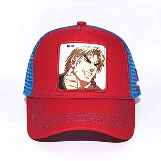 sdssup Gorra de Béisbol Sombrero de Anime Gorra de Sombrero Malla ...