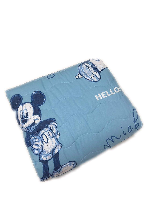 Caleffi Copriletto Trapuntato Singolo Una Piazza In Cotone Disney Mickey Ok Tessili Per La Casa Casa E Cucina Jsph In