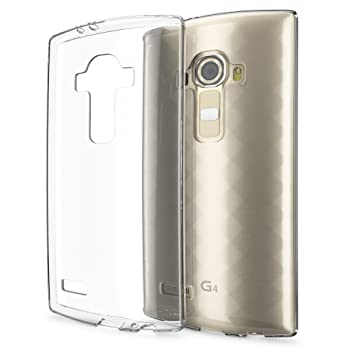 NALIA Funda Carcasa Compatible con LG G4, Protectora Movil Silicona Ultra-Fina Gel Cubierta Estuche, Goma Ligera Smart-Phone Bumper Cover Cobertura ...