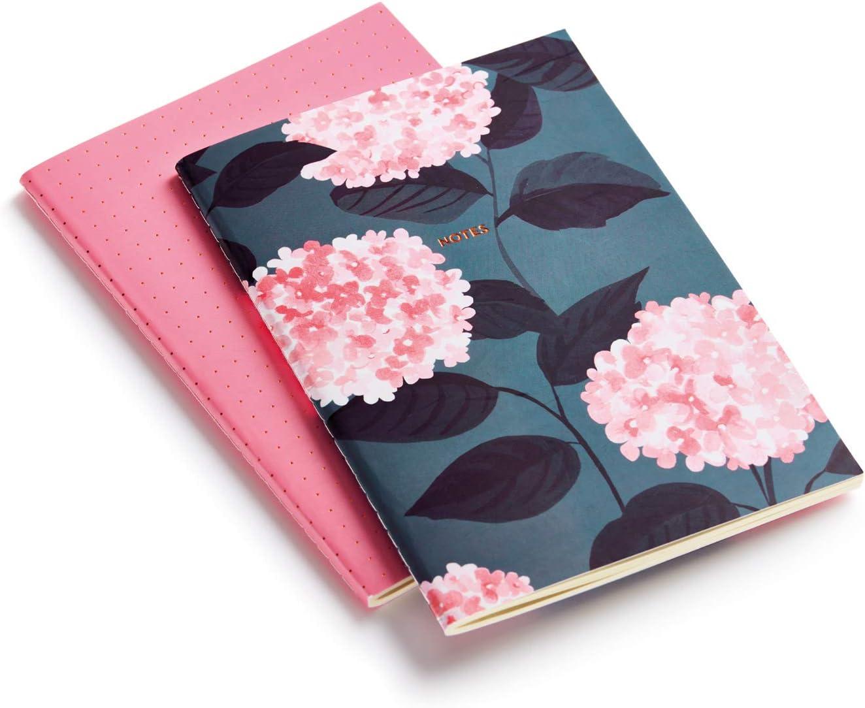 MIQUELRIUS 1389 - Pack 2 Cuadernos Cosidos A5, tapa blanda, 40 Hojas Bella Garden: Amazon.es: Oficina y papelería