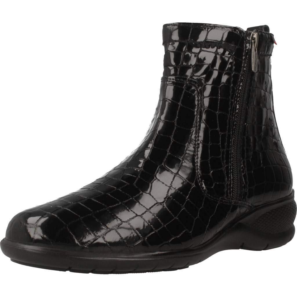 CallagHan Stiefelleten Stiefel Damen, Farbe Schwarz, Marke, Modell Stiefelleten Stiefel Damen Iguana Schwarz