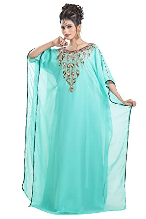 52ad1248465 Evening Wear Home Gown Farasha for Arabian Women s by Maxim Creation 6424  ...
