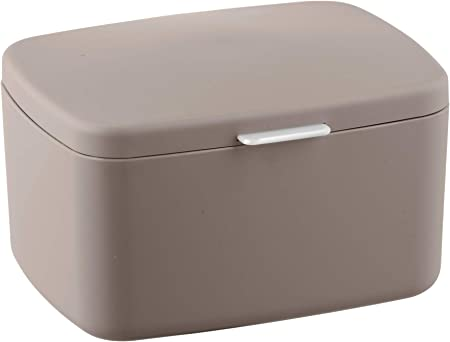 Wenko Barcelona - Caja de baño con tapa, cesta de almacenaje ...