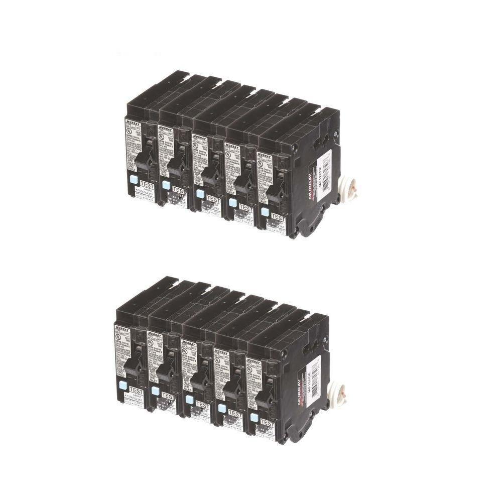20 Amp Single Pole Dual Function Circuit Breakers (10 Pack) Murray BUNMPDF10