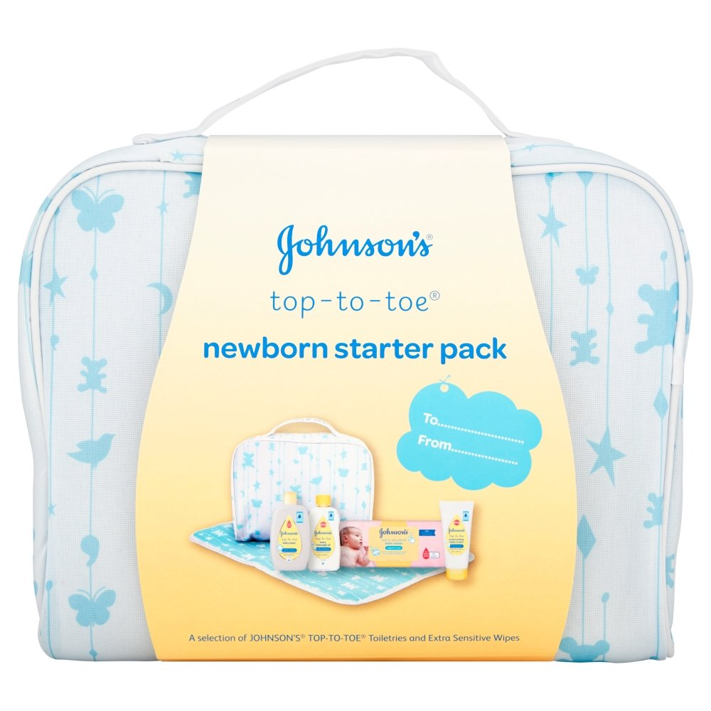 Johnson 's Baby Sensitive Touch recién nacido Starter Pack Johnson and Johnson 8456600