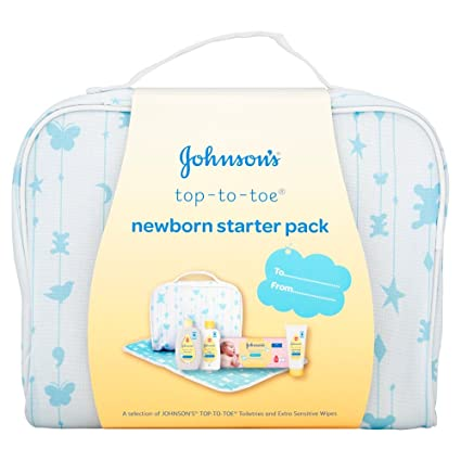 Johnson s Baby Sensitive Touch recién nacido Starter Pack: Amazon ...