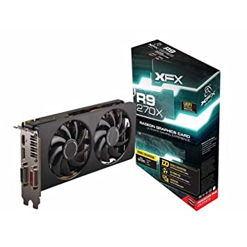 Amazon.com: XFX AMD Radeon R9 270 X D doble 2 GB tarjeta ...