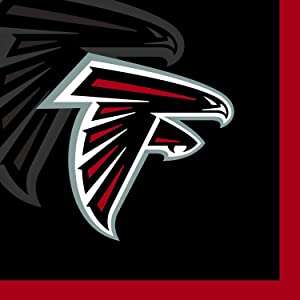 Creative Converting 16 Count Atlanta Falcons Beverage Napkins