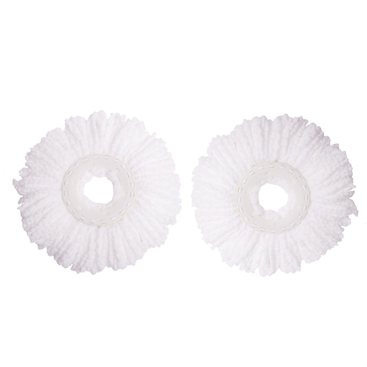 Microfiber Spin Mop Replacement Mop Head by Mopnado (2 Pack) Refill SYNCHKG065638