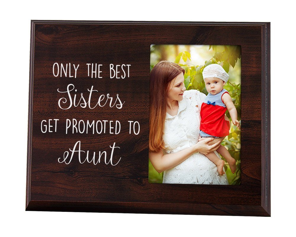 Amazon.com - Aunt Picture Frame Only the Best Sisters Get Promoted ...