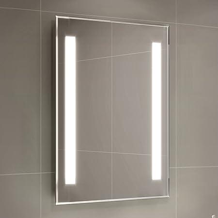 Superieur 500 X 700 Mm Modern Illuminated Backlit LED Bathroom Mirror Light ML2107