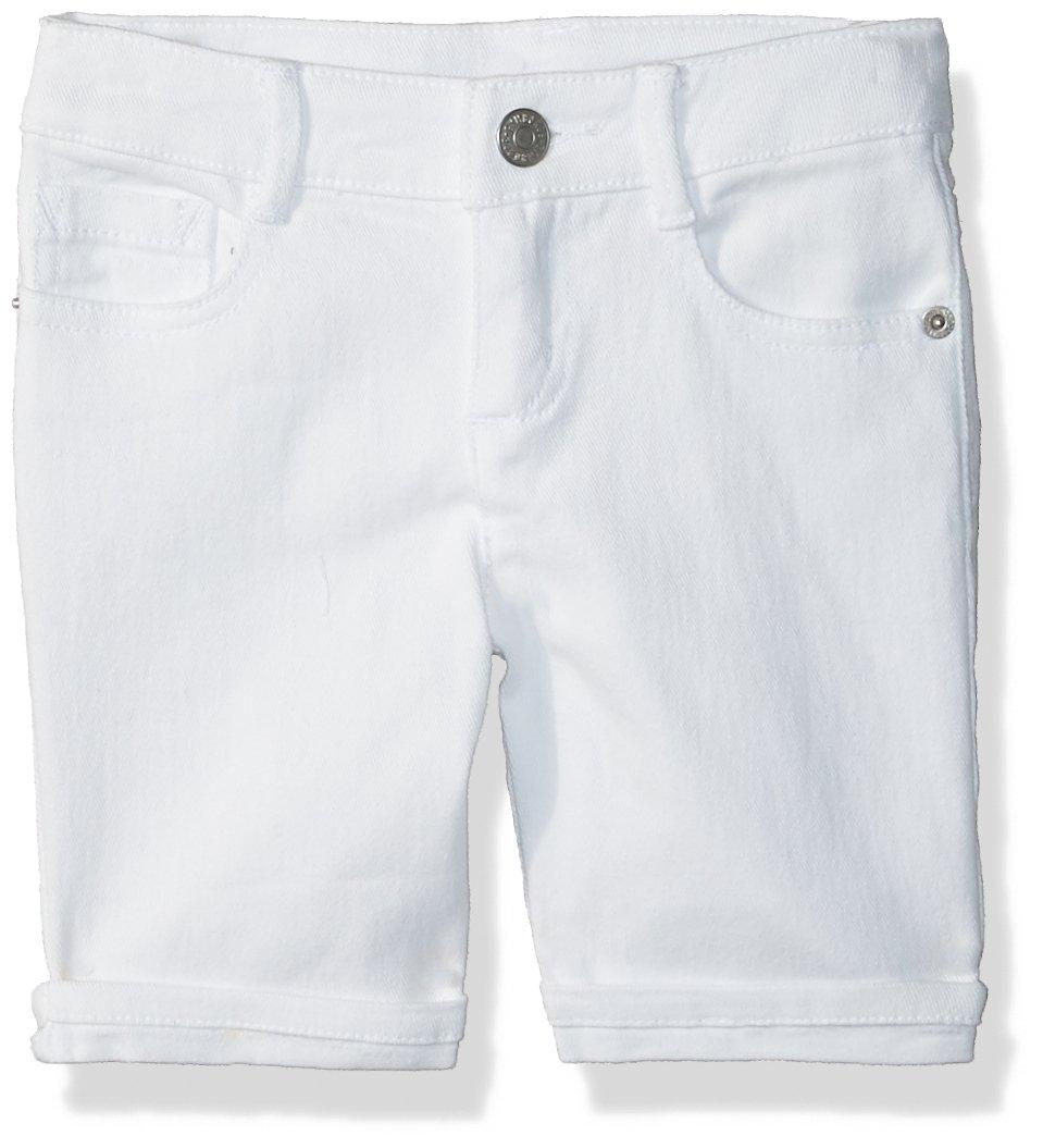 Gymboree Little Girls' Bermuda Shorts, White, 10