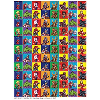 Eureka Back to School Classroom Supplies Marvel Super Hero Adventure Mini Sticker Book, 704 pcs: Office Products [5Bkhe1005128]