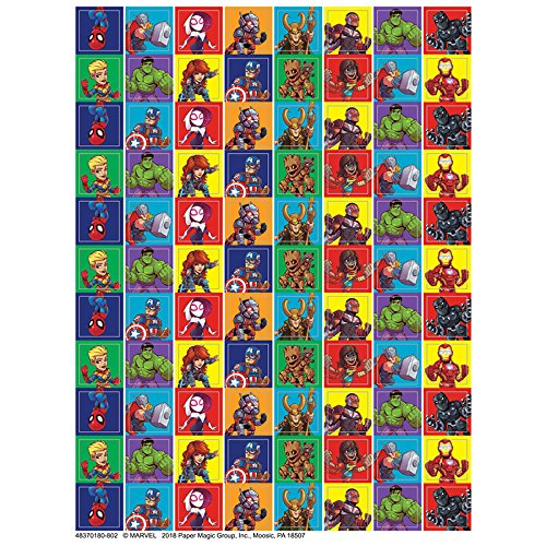 Eureka Back to School Classroom Supplies Marvel Super Hero Adventure Mini Sticker Book 704 pcs Paper Magic Group 621006