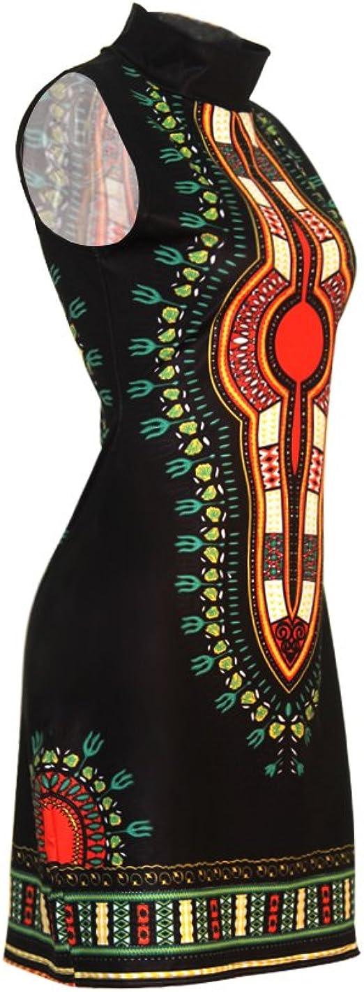 Women's Traditional African Print Dashiki