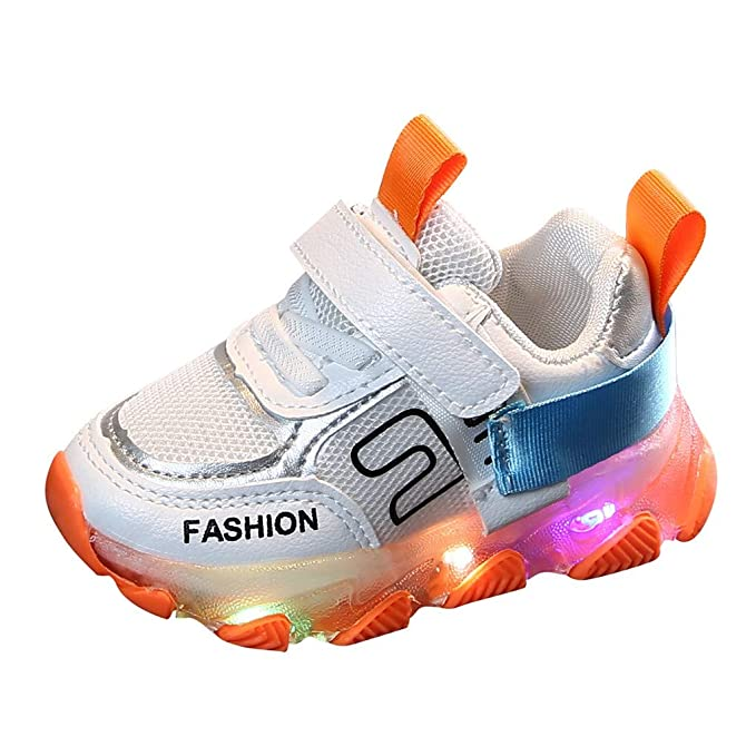 New Shoes 2020.Led Sneakers For Kids 2020 New Children Kid Baby Girls Boys