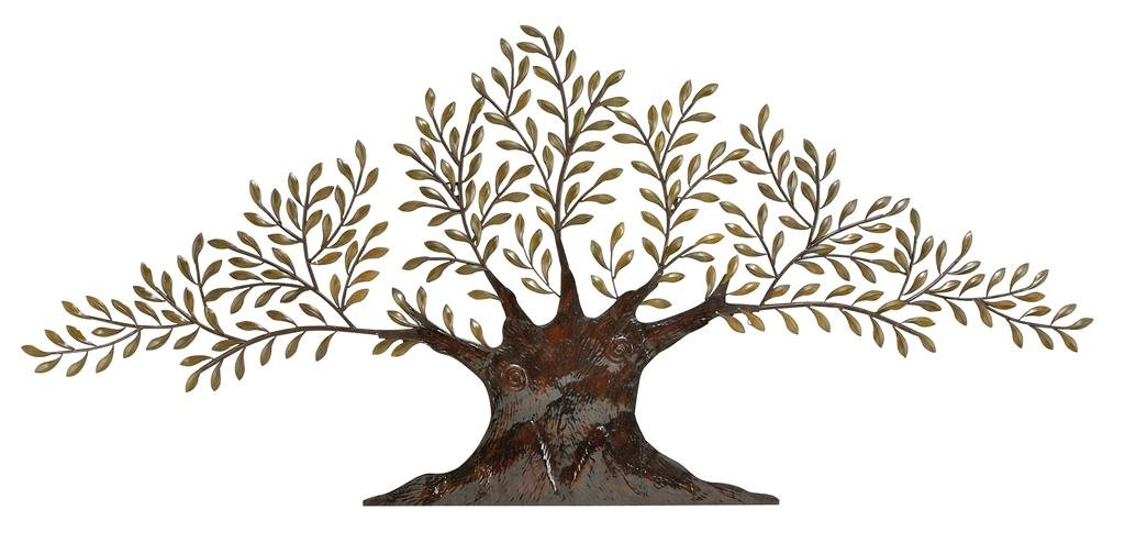 Amazon.com: Deco 79 68501 Metal Olive Tree Wall Decor, 94 By 42 Inch,  Brown/Golden Green: Home U0026 Kitchen
