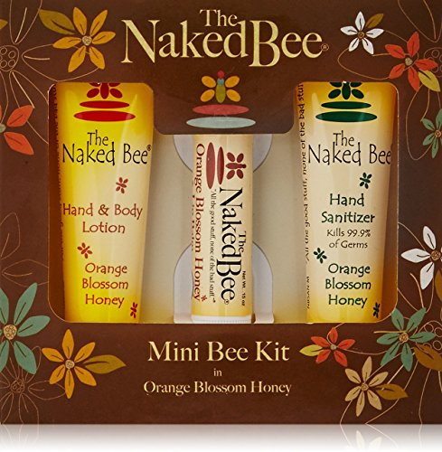 The Naked Bee Orange Blossom Mini Bee Kit