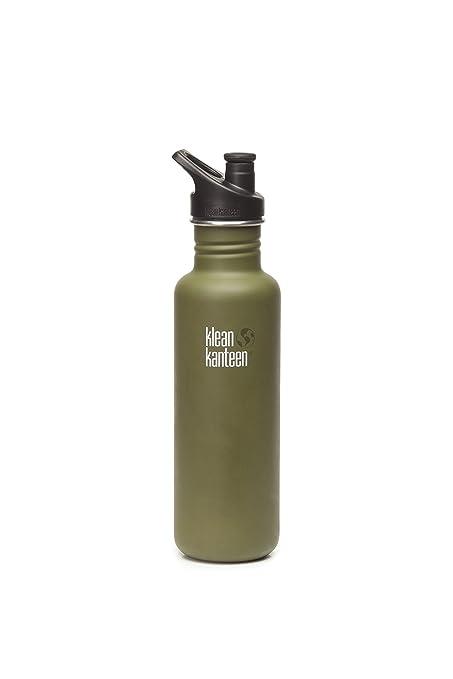 Amazon.com: Botella de acero inoxidable Klean Kanteen, con ...