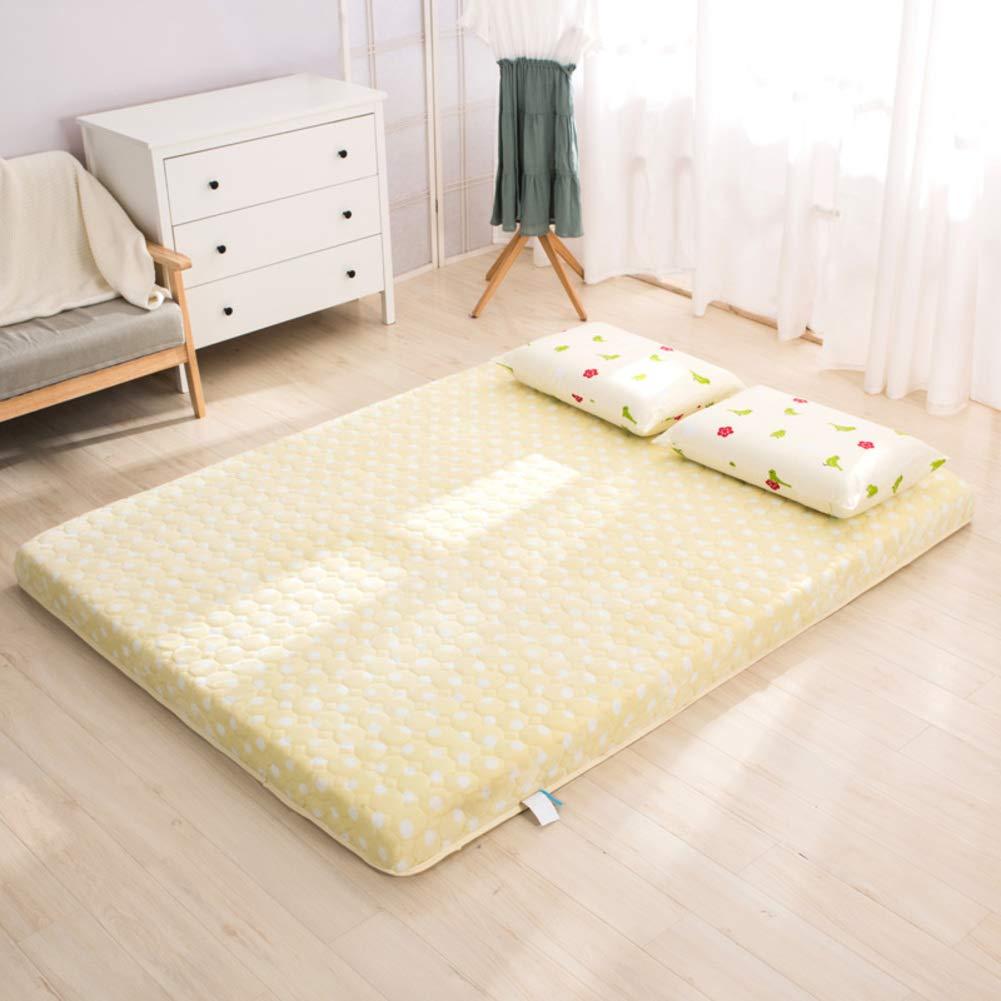 E 90x190x5cm(35x75x2inch) Fluffy Memory Foam Mattress,Double Sided Breathable Comfortable Tatami mat Thick Non-Slip Student Dormitory Mattress Futon Mattress-H 150x190x8cm