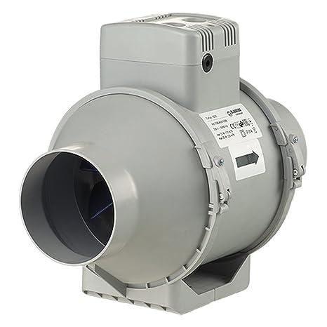 Blauberg Reino Unido turbo-100-t Blauberg Turbo flujo mixto en línea ventilador Extractor