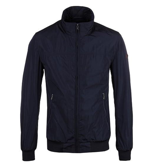 HACKETT LONDON ÜBERGANGSJACKE Gr. M Blau Herren Jacke Jacket