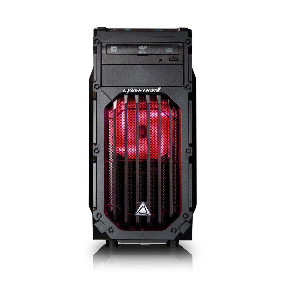 CybertronPC Palladium GTX-1060M Gaming Desktop – Intel i7-7700 3.6GHz Quad-Core Processor, 16GB DDR4 Memory, NVIDIA GeForce GTX 1060 6GB GDDR5 Graphics, 1TB HDD, Windows 10 Home 64-Bit