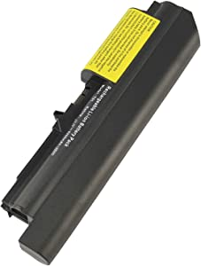 Laptop Battery for IBM/Lenovo ThinkPad R61 T61 R61i R61e 14-Inch Widescreen - ThinkPad T400 fits 42T4644 42T4645 42T4677 42T4678 42T4743 42T4745 42T4771 42T5262 42T5264 (General Battery)