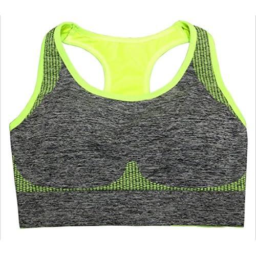 Pas de jantes rassemblent Yoga Running Fitness sans soutien-gorge de sport professionnel sous-vêtementsGAOXP