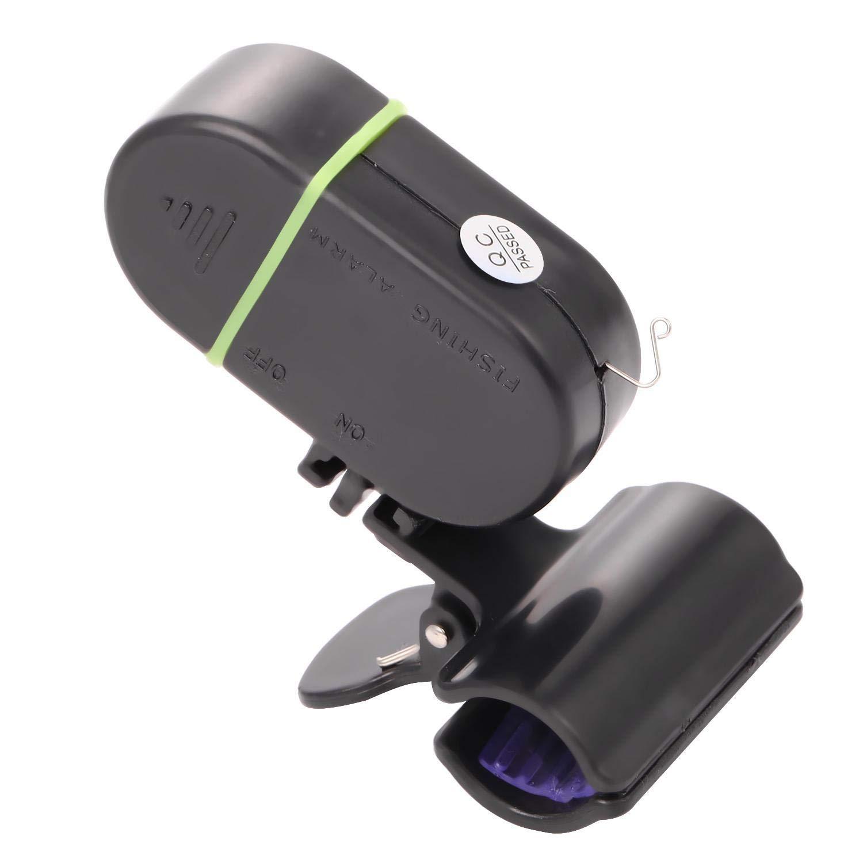 cerjuge LED-Licht Elektronische Drahtlose Fischerei Bissanzeiger Alarm Set Strike Sound Bell Clip-On Fischrute