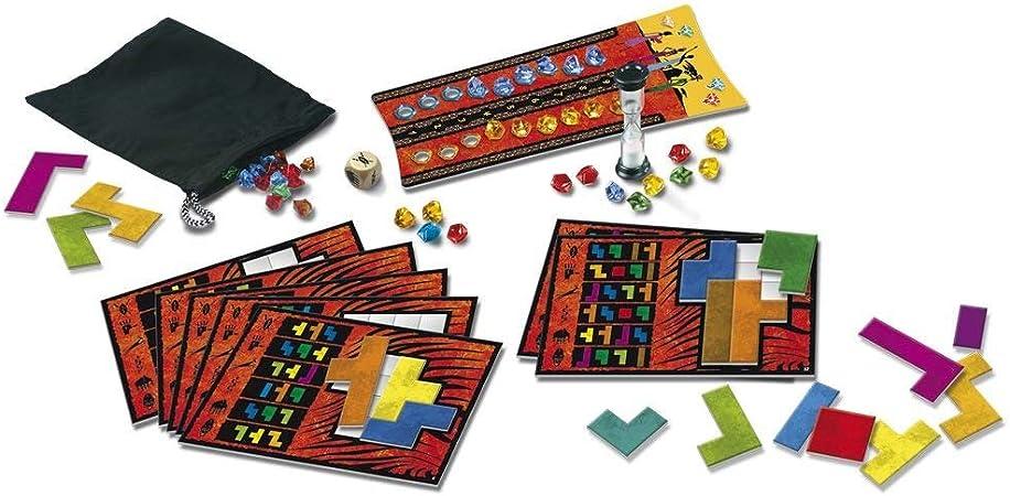 Devir- BGUBON Ubongo, juego de mesa, Multicolor , color/modelo surtido: Amazon.es: Juguetes y juegos