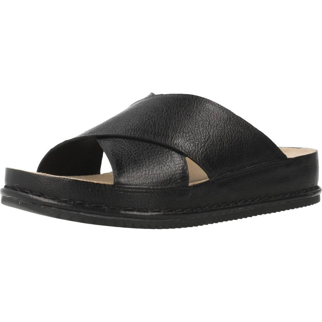 4265d76591b Clarks Alderlake Lily Leather Sandals In Black Standard Fit Size 3½   Amazon.co.uk  Shoes   Bags
