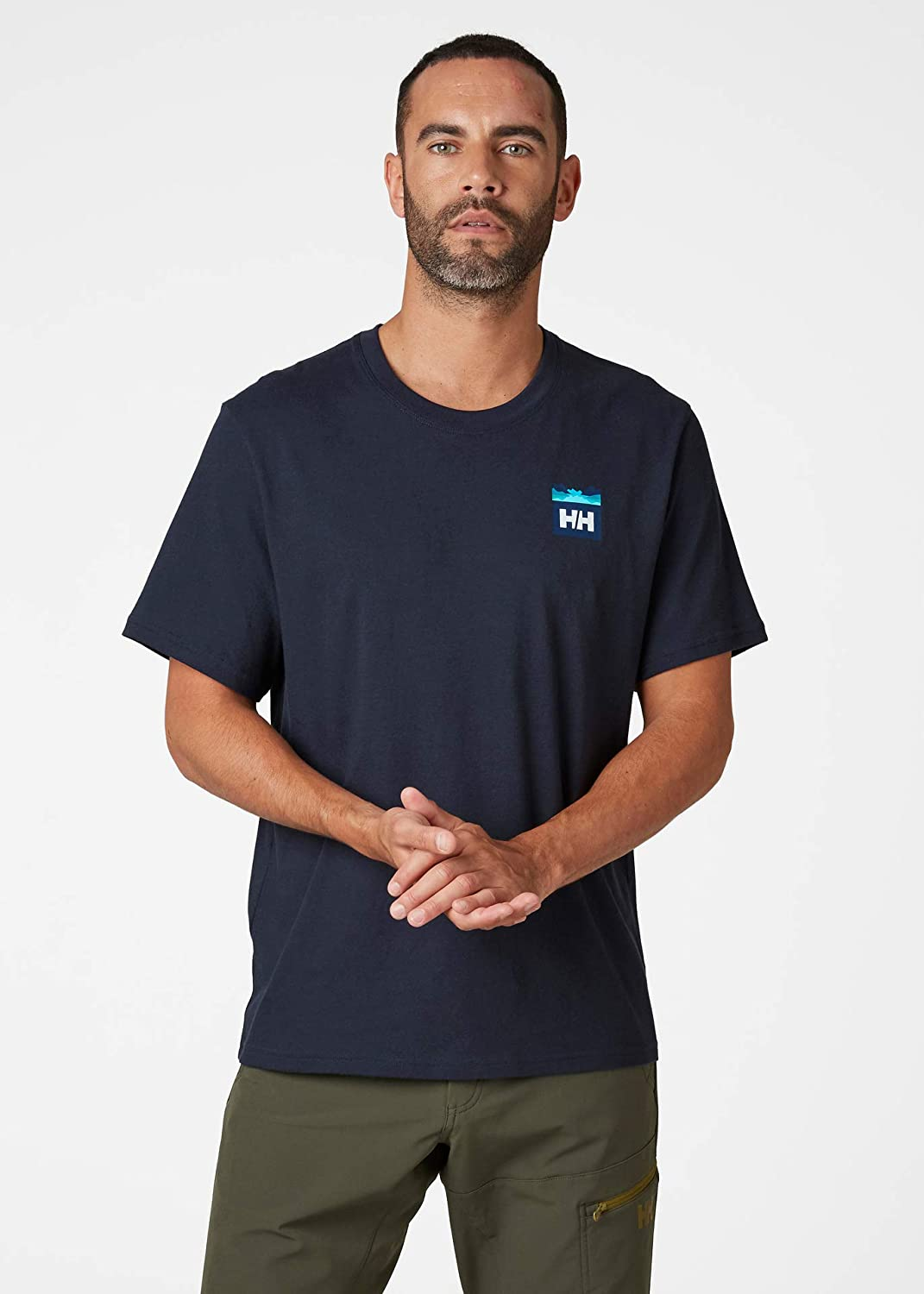 Camiseta Hombre Helly Hansen Nord Graphic HH T-Shirt