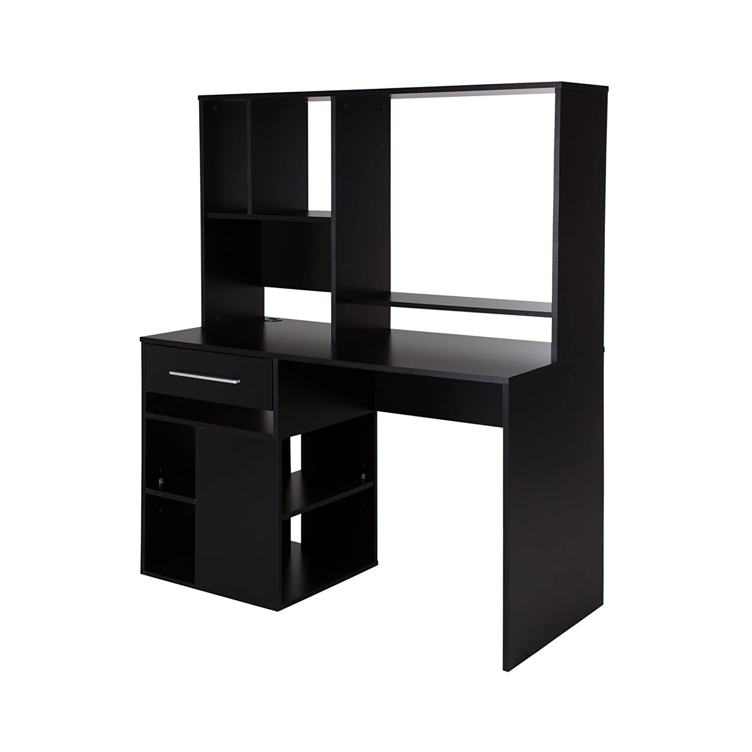 home office computer desk furniture. Amazon.com: South Shore Annexe Home Office Computer Desk, Pure Black: Kitchen \u0026 Dining Desk Furniture I