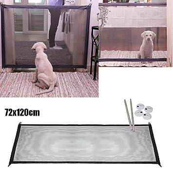 Amazon Hot Sale Hongxin 2018 Dog Gate The Ingenious Mesh Magic