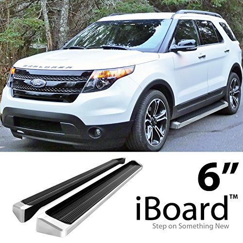 Off Roader eBoard Running Boards Silver 6