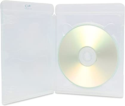 10 cajas transparentes para 1 disco Blu-ray, de AMARAY VORTEX ...