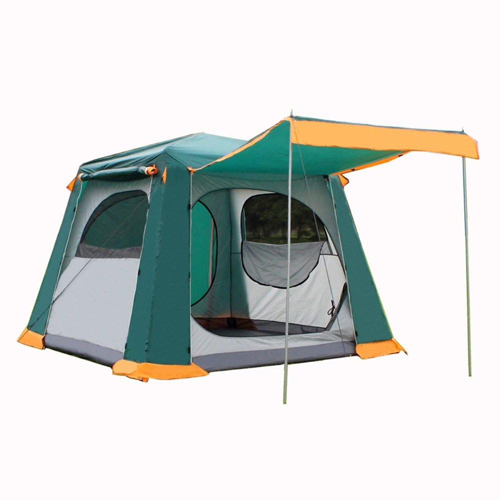 Zelt 5-8 Personen Dicke Automatische Outdoor Camping Schuppen (Tinte GrüN 240  240  185 cm) B07NN8VSGN Kuppelzelte Mode dynamisch