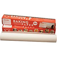 Parchment Paper Sheets, Wax Paper for Baking, Roll 30cm x 20M (65 Square Feet), Non-Stick Paper for Kitchen Multiapplications Use, 1 roll