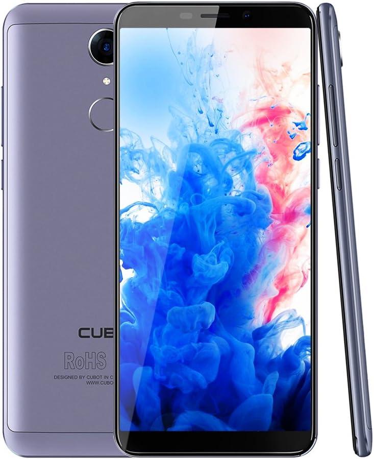 Cubot Nova 4 G LTE Smartphone sin Contrato 5.5 pulgadas (18: 9) HD + Pantalla 13.0 MP + 8.0 MP cámara, Dual SIM, Android 8.1,3 GB RAM + 16GB ROM Memoria Huella Dactilar, sensor, 2800 mAh batería (Azul): Amazon.es: Electrónica