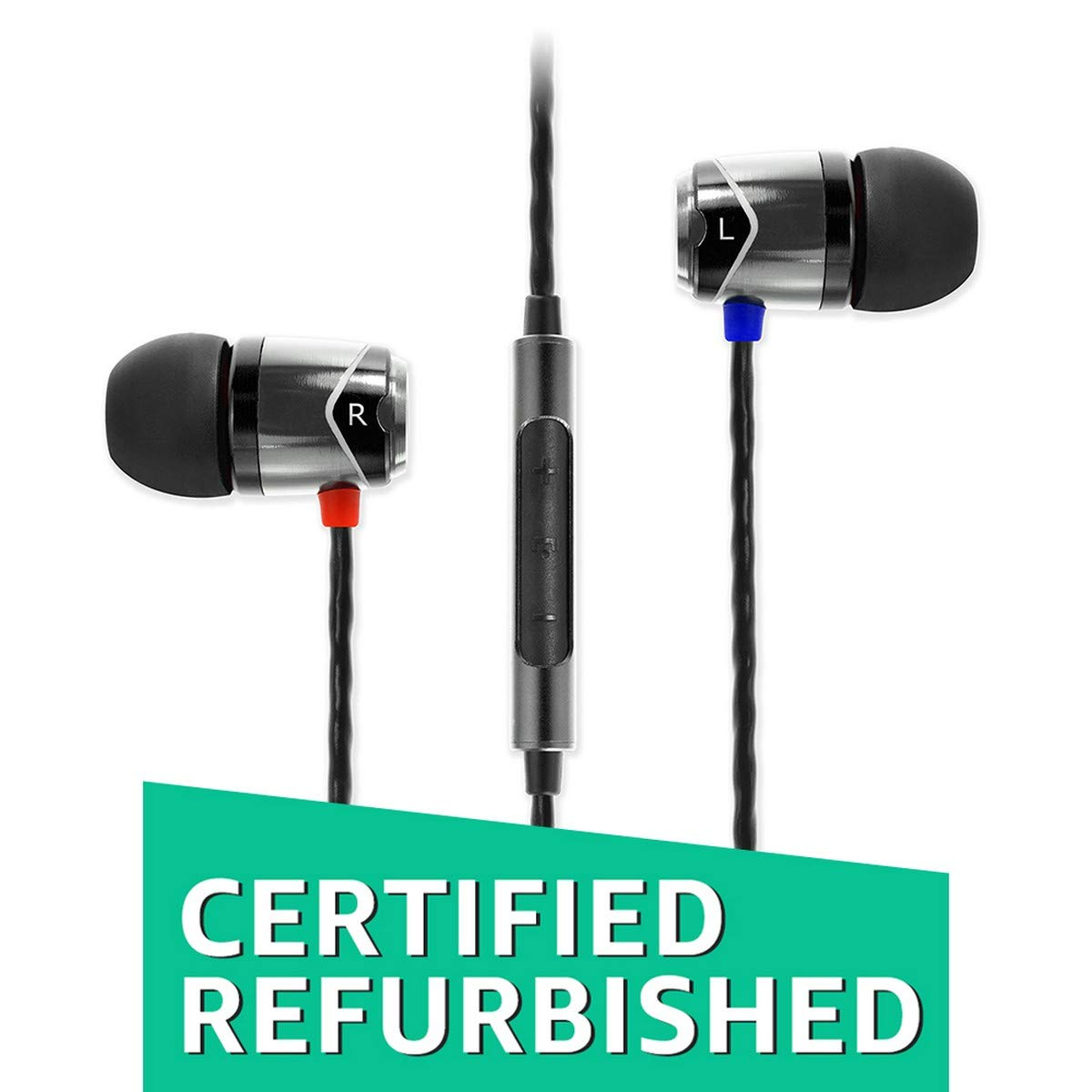 (Certified REFURBISHED) SoundMagic E10C in-Ear Headphones