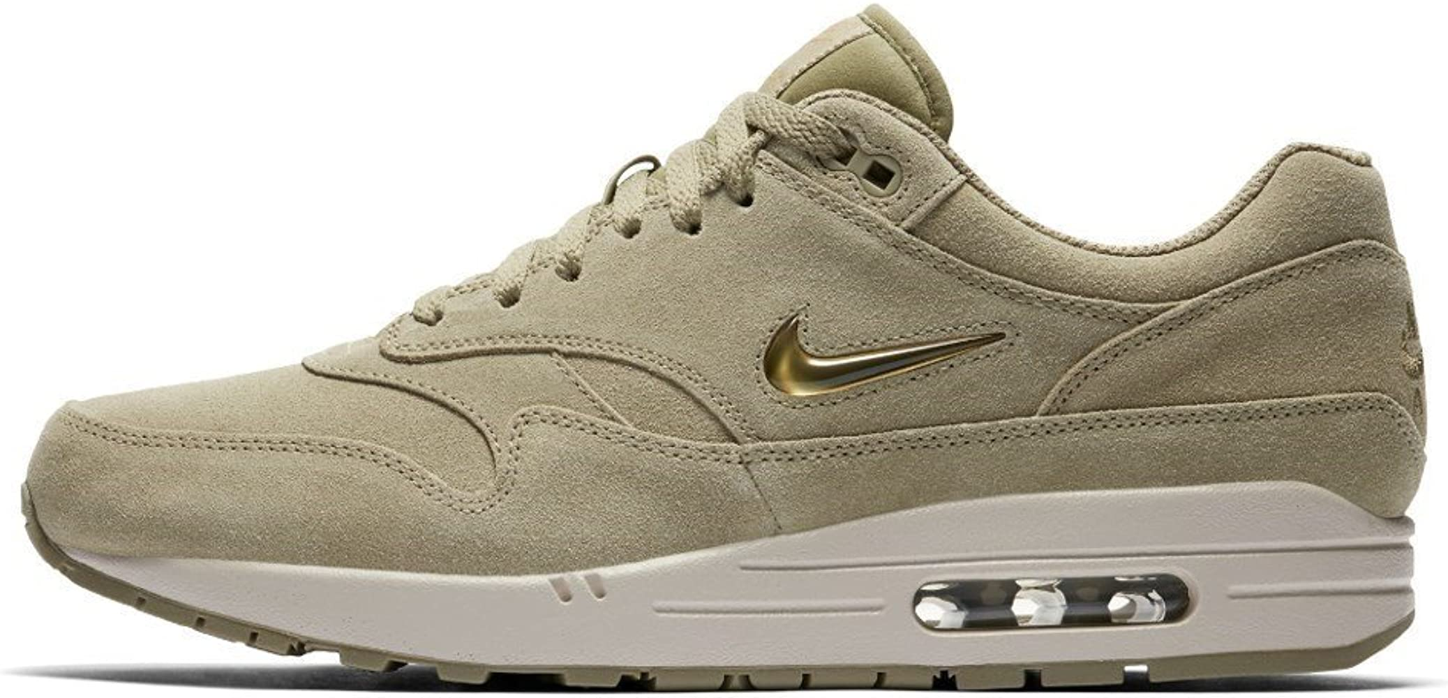e355a75770669 NIKEE Air Max 1 Premium SC Mens Running Shoes Size 12 Neutral  Olive/Metallic Gold