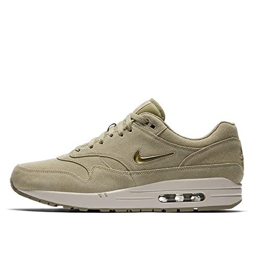 NIKEE Air Max 1 Premium SC Mens Running Shoes Size 12 Neutral OliveMetallic Gold