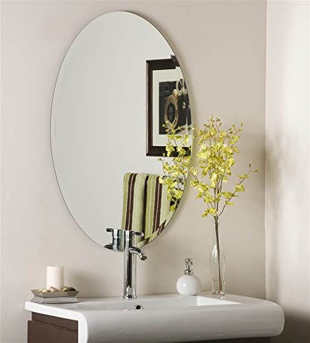 Decor Wonderland Flawless Frameless Wall Mirror